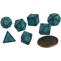 Набор кубиков The Witcher Dice Set: Yennefer – Sorceress Supreme, 7 шт.
