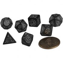 Набор кубиков The Witcher Dice Set: Yennefer – The Obsidian Star, 7 шт.