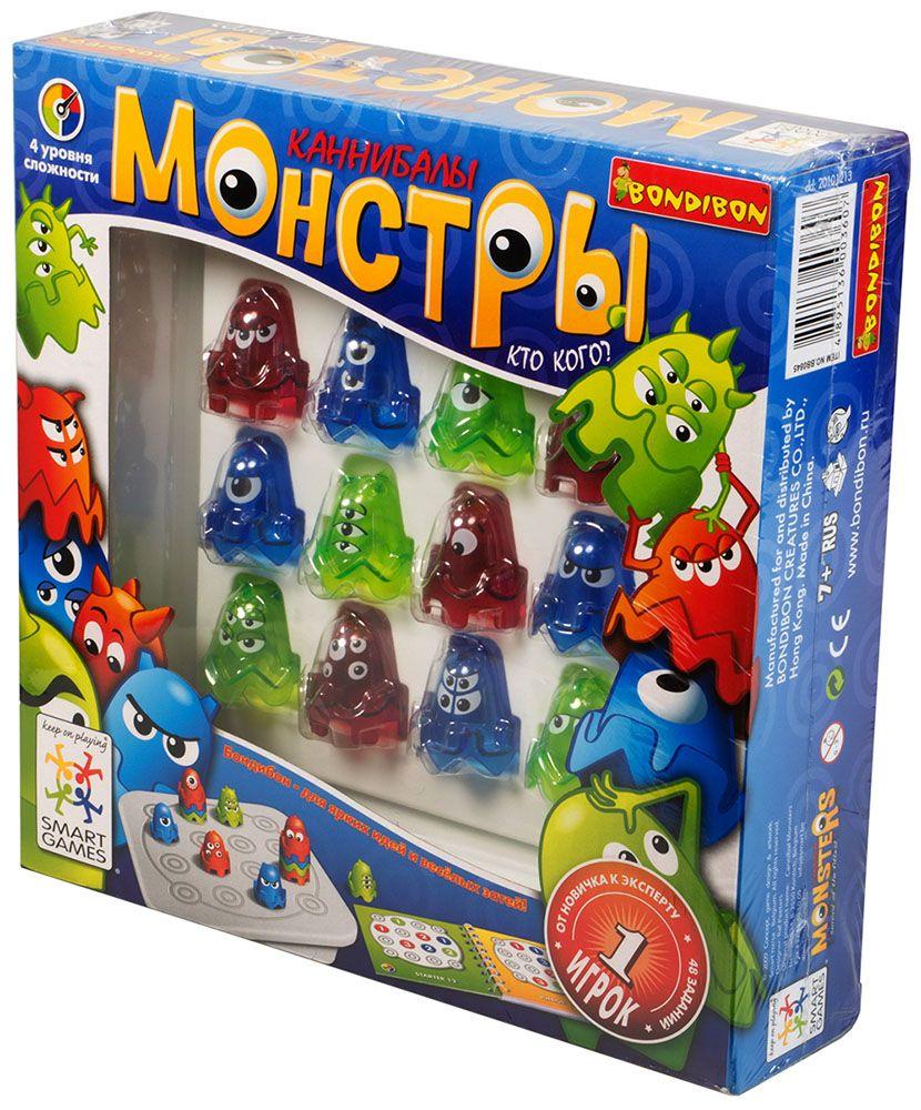 Купить Монстры, Настольная игра Smart Games