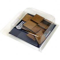 20 квадратных подставок из МДФ 25 мм