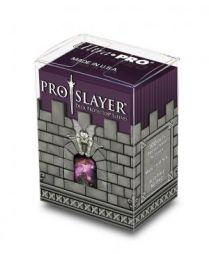 Коробочка с протекторами Ultra-Pro (100 шт., 66x91 мм): пластиковая Pro-Slayer вишнёвая