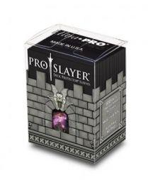 Коробочка с протекторами Ultra-Pro (100 шт., 66x91 мм): пластиковая Pro-Slayer чёрная