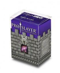 Коробочка с протекторами Ultra-Pro (100 шт., 66x91 мм): пластиковая Pro-Slayer фиолетовая