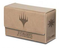 Коробочка Ultra-Pro кожаная на 200 карт: Символ белой маны