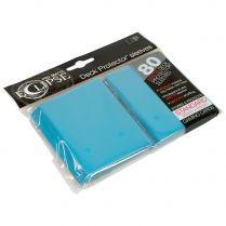 Протекторы Ultra-Pro Eclipse Pro-Matte Deck Protector (80 шт., 66х91 мм) голубые матовые