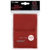 Протекторы Ultra-Pro (100 шт., 66х91мм): Красные матовые