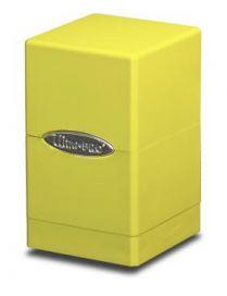 Коробочка Ultra-Pro Satin Tower: Жёлтая