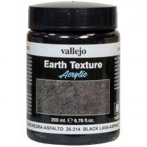 Краска Earth Texture: Black Lava-Asphalt (200 мл)