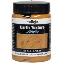 Краска Earth Texture: Brown Earth (200 мл)
