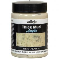 Краска Thick Mud: Light Brown Thick Mud (200 мл)