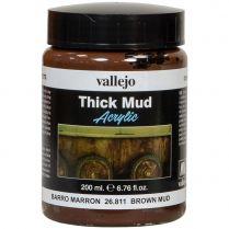 Краска Thick Mud: Brown Mud (200 мл)