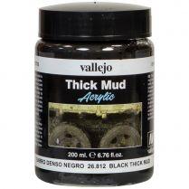 Краска Thick Mud: Black Thick Mud (200 мл)