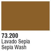 200. `Wash` Сепия