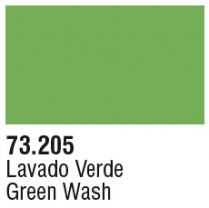 205. `Wash` Зеленый