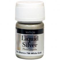 Краска Liquid Silver: White Gold (35 мл)