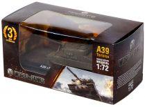 Танк A39 Tortoise с подставкой (1:72) (премиум)