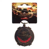 Брелок «Награды и достижения World of Tanks» (Медаль Бурды)