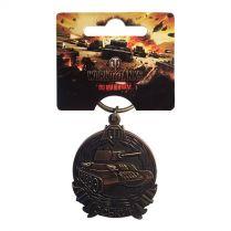 Брелок «Награды и достижения World of Tanks» (Медаль Оськина)