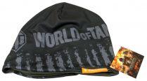 World Of Tanks, шапка мужская, Серая с надписью