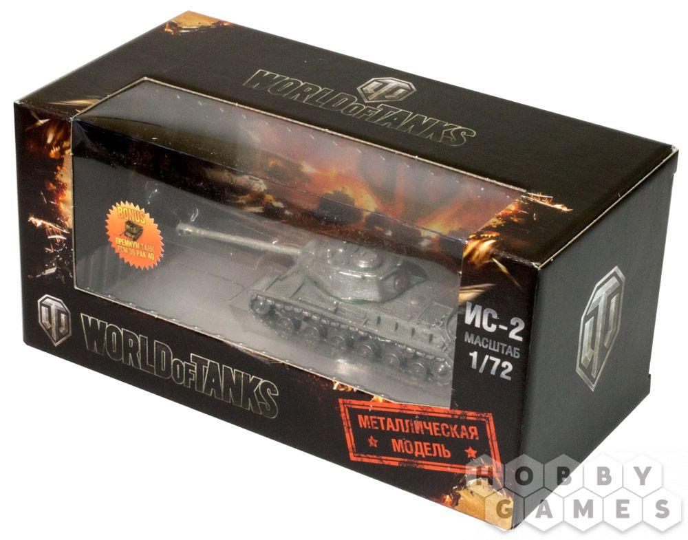 Танк ИС-2 без подставки (1:72)   Купить настольную игру в магазинах Hobby Games