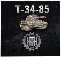 Значок Танк Т 34-85