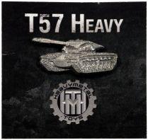 Значок Танк Т-57 Heavy