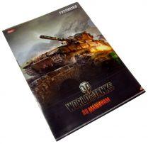 Папка-Уголок World Of Tanks пластиковая, формата А4 (FV215B)