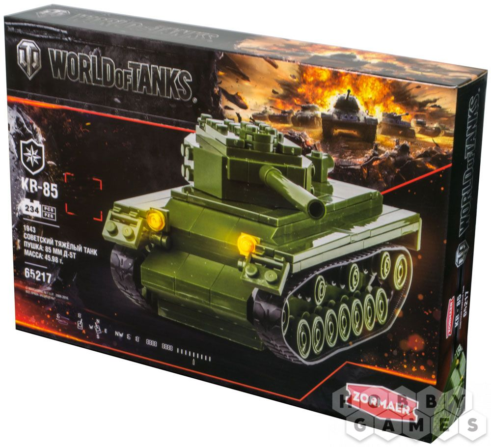 Конструктор World of Tanks СУ-5 273 дет