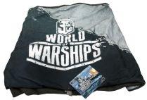 World Of Warships, снуд мужской, серо-голубой