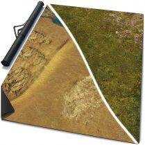 Двухстороннее игровое поле Homeland/Desert Heart 72x48 (Mouse pad)