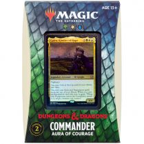 MTG. Adventures in the Forgotten Realms. Commander: Aura of courage