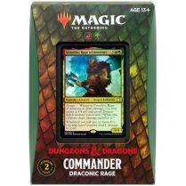 MTG. Adventures in the Forgotten Realms. Commander: Draconic rage