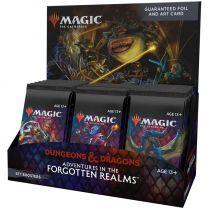 MTG. Adventures in the Forgotten Realms – дисплей бустеров выпуска на английском языке