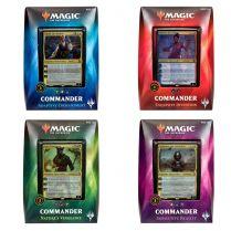 Magic. Commander 2018: Четыре колоды