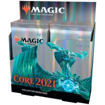 MTG. Core Set 2021 - дисплей коллекционных бустеров на английском языке