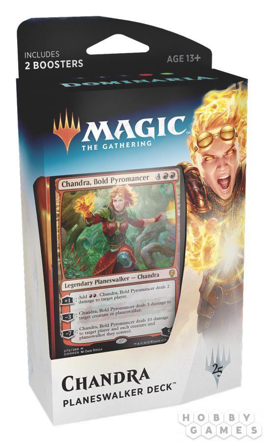 MTG. Dominaria: Chandra, Bold Pyromancer на английском языке | Купить настольную игру в магазинах Hobby Games