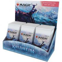 MTG. Kaldheim - дисплей бустеров выпуска на английском языке