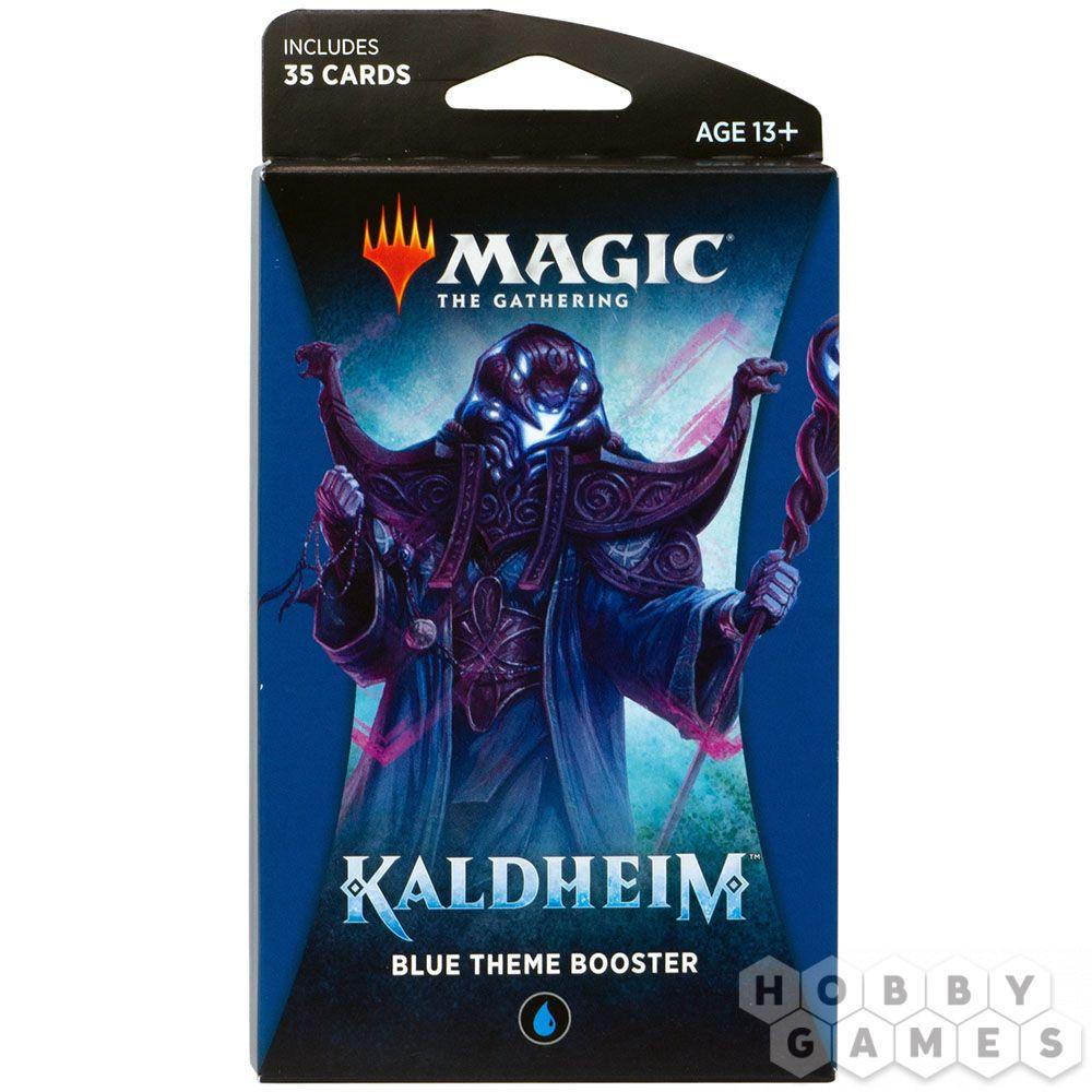 MTG. Kaldheim: Blue – тематический бустер на английском языке | Купить настольную игру в магазинах Hobby Games