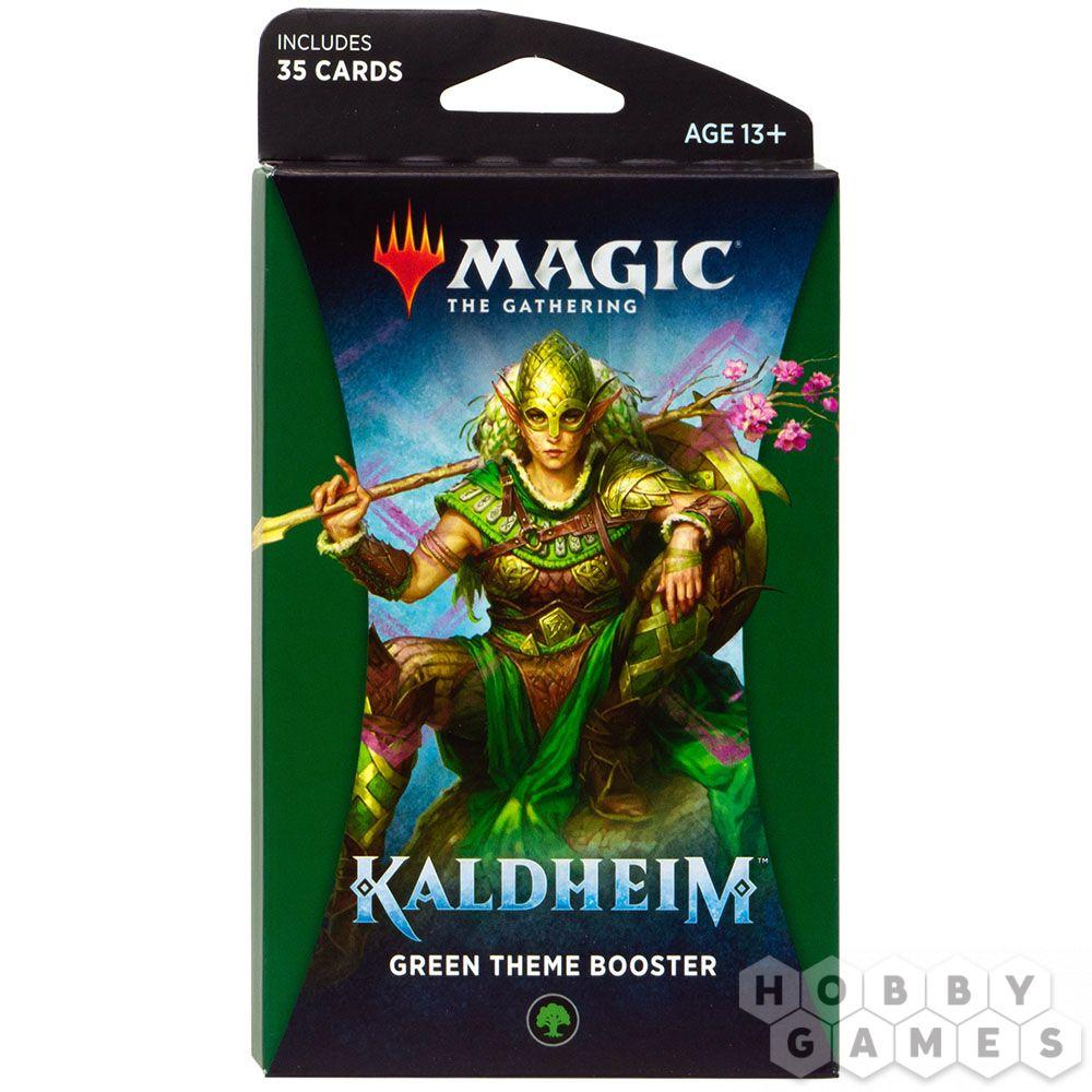 MTG. Kaldheim: Green – тематический бустер на английском языке | Купить настольную игру в магазинах Hobby Games
