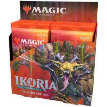 Magic. Ikoria: Lair of Behemoths - дисплей коллекционных бустеров на английском языке