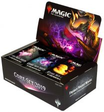 Magic. Core Set 2019 - дисплей бустеров на английском языке