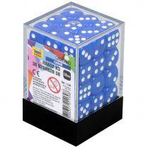 Набор из 36 кубиков D6, 12 мм, синий