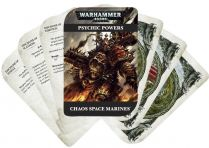 Psychic Cards: Chaos Space Marines