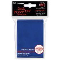 Протекторы Ultra-Pro (50шт., 66x91 мм): синие