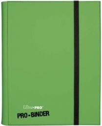 Альбом Ultra-Pro PRO-BINDER Светло-Зеленый (с листами 3х3 кармашка)
