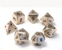 Набор маленьких металлических кубиков: Стальной
