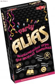 Компактная игра: ALIAS: Party (Скажи иначе: Вечеринка)
