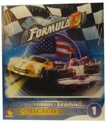 Дополнительные карты Чикаго для игры Formula D