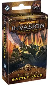 Warhammer. Invasion LCG: The Iron Rock Battle Pack