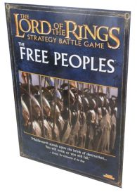 Lord of the rings Free peoples army book